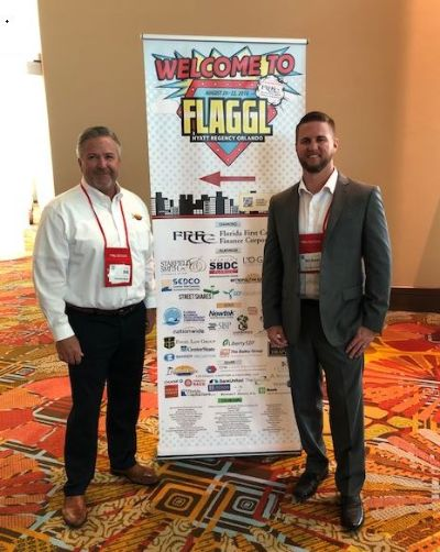 Bill and Mike Burke 2018 FLAGGL Conference
